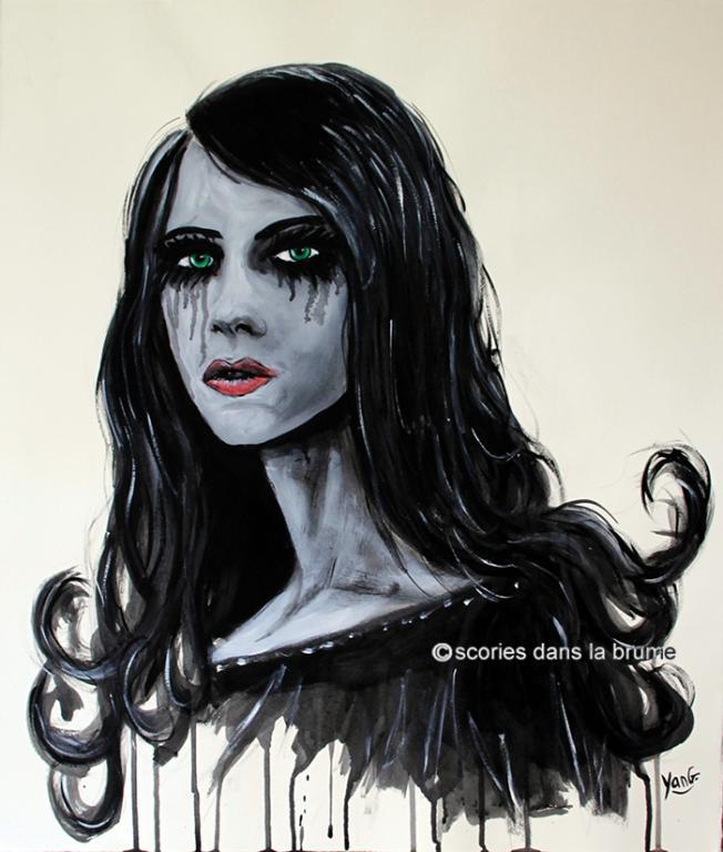 Portrait gothique