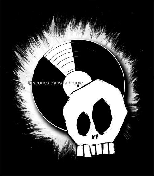 Skull &vinyl