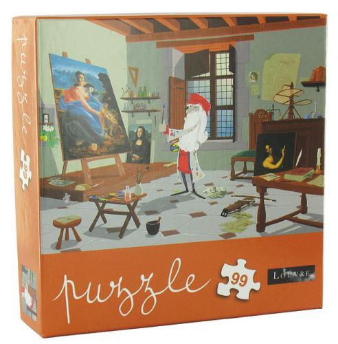 puzzle de vinci Louvre