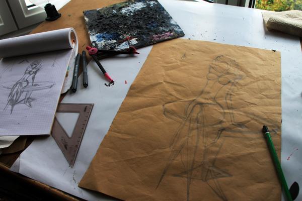 Ava adore sketch 1