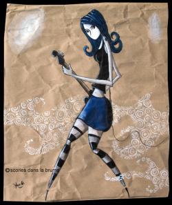 Bleue pop