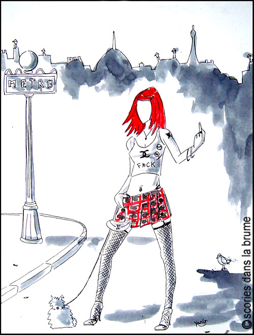 Chanel punk