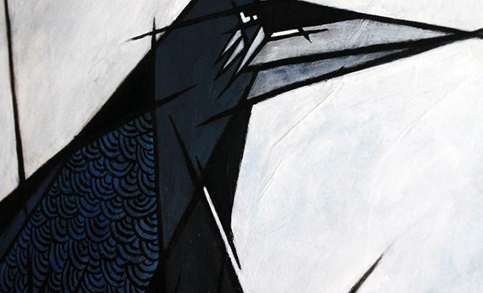 Corvus corax detail 2
