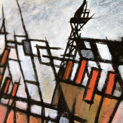 toits parisiens (détail)