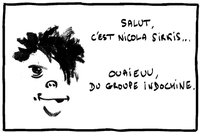 Indochine sirkis a