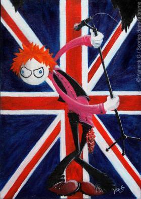 Johnny Rotten (Sex Pistols)