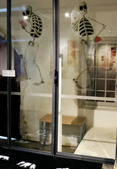 Squelettes, exposition