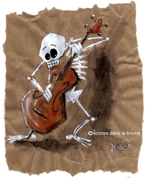 Skull contrebasse