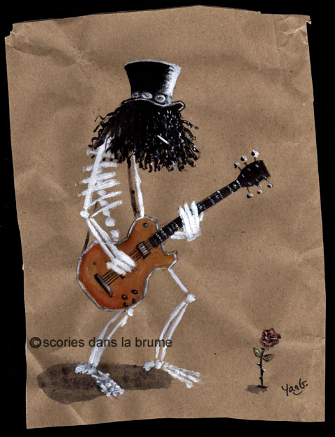 Slash skeleton