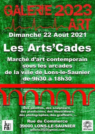 Small flyer les artscades 2021